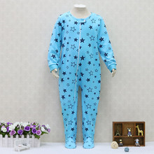 Big Boys 100% Cotton Rompers Long Sleeve Girls Sleepers One Piece Children  Clothes for about 2 to 7 years old baby Christmas 6026ac2c0