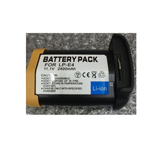 LP-E4 lithium batteries pack LP E4 Digital Camera Battery LP E4 For Canon EOS-1D Mark III 1Ds Mark III 1D mark4 DSLR Camera(China)