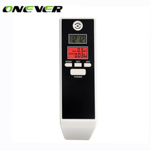 Onever Backlit Display Digital LCD Alert Breath Alcohol Tester Prefessional Police Alcohol The Breathalyzer Parking Breathalyser(China)