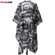 European American Fashion Black Professional Hot Salon Hairdressing Hairdresser Hair Cutting Gown Barber Cape Cloth Adult Kids
