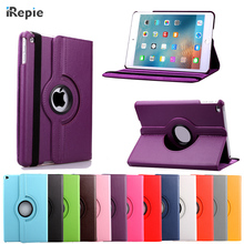 "hot sale tablet cases For apple Pad 6 Air 2 9.7"" PU Leather shell Luxury 360 Rotation Stand  Flip Capa Cover wake-up"