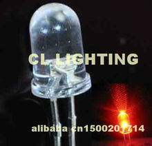 High quality Round 5MM RED LED automatic 1.5Hz blinking light diode 3.0-3.5V(flashing led)