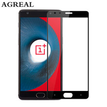 oneplus 3 tempered glass original oneplus 3T screen protector oneplus 3t glass full cover white black accessories 5.5 inch