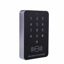 125KHz 12V RFID ID Card Password Access Controller Machine + Access Control Keypad RFID Card Keytab Proximity Door Lock