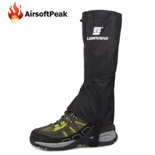 AIRSOFTPEAK Waterproof Snow Leg Gaiters For Outdoor Skate Skiing Walking Camping Hiking Shin Leg Protect Equipment Shoes Cover ^