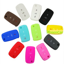 1pcs 3 Buttons Car Key Case Cover Fit for VW Volkswagen Touareg GTI Cabrio CC R32 Sharan Amarok Beetle CrossFox Plus Scirocco