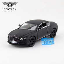 Free Shipping/1:36 Scale/Bentley Continental GT V8 toy/Educational Model/Pull back Diecast Metal toy car/Gift/Collection/Kid