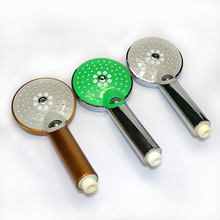 ABS Round Head Shower Manufacturers Wholesale Hand Handshake High Quality Handle Twill Head Shower Set Accessories(China)