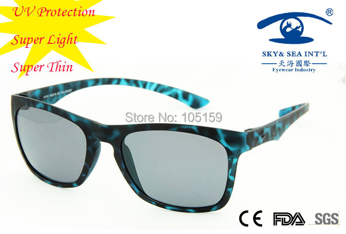 Free Shipping Fashion Design Matt Blue Flexible Sunglasses  Men/Women TR90 Flexible Material Super Thin and Light Sun Glasses<br><br>Aliexpress