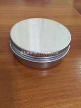 Free shipping 50 pcs/lot 60g aluminum jar, 2 oz cosmetic bottles, 60ml aluminum can tin,metal jar for cream powder gel etc