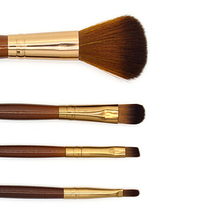 New Product 4x Makeup Brush Set Cosmetic Toiletry Makeup Blush Eyeshadow Eyebrow Lip Brushes 9R6A(China)