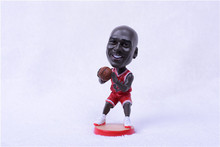 Miniverse 12 CM Resin Basketball Doll 1/15 Real-man BUL Michael 23 Figure BobbleHead Red(China)