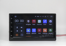 "half price+free shipping android system 7"" double din car gps dvd for universal car radio(China)"