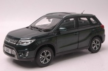 1:18 Diecast Model for Suzuki Vitara 2016 Green SUV Rare Alloy Toy Car Collection Gifts Gran(China)