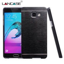 For Samsung Galaxy A5 2016 Case Motomo Luxuxy Aluminum Metal Brush Plastic Hard Case For Samsung A3 2016 A5 2017 A7 Case Cover