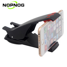 NOPNOG Phone Holder Mobile Phone Stand Cradle for IPhone Samsung Car Dashboard Holder Hippo Mouth Car Holder Support GPS