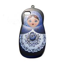 2017 Fashion russian dolls rose lotus flower carriage perfume sexy girl soft tpu cell phones case For Iphone4 4s