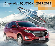 For Chevrolet EQUINOX 2017.2018 Roof Racks Car Luggage Rack High Quality Aluminium Alloy Paste Installation Auto Accessorie