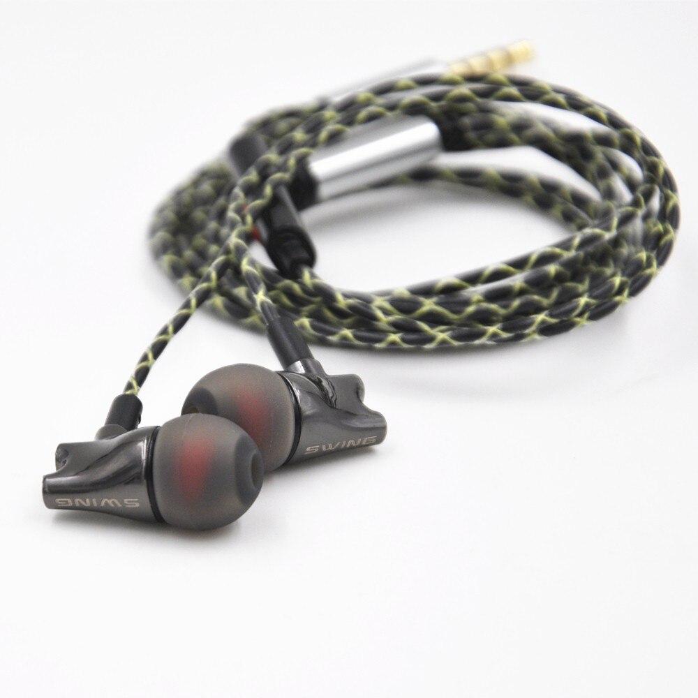 Wooeasy DIY IE800 Earbuds HiFi In-ear Ceramic Earphone Earbud Earbuds Wth Microphone Top Quality HiFi In-Ear Headset 30