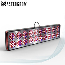 Apollo 20 Full Spectrum 1500W 10bands LED Grow light Panel With Red/Blue/UV/IR led light For Indoor Plants and Hydroponic System(China)