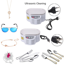 Functional Mini Ultrasonic Cleaner for Jewelry Watch Glasses Circuit Board CD Lens 30W 50W