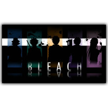 Japanese Anime Bleach Custom Home Decoration Silk Wallpaper Printing Posters DM140