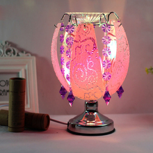 Hot sale holiday gift incense lamp lighting decorative table lamp touch induction conversion table lamp(China)