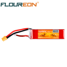 FLOUREON 11.1V 2800mAh 35C 3S Lipo RC Battery Rechargeable Li-poly Batteries Pack XT60 Plug for RC Helicopter Quadcopter Toys(China)