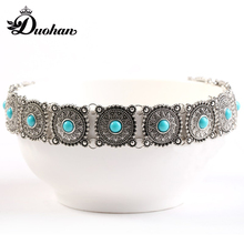Duohan Boho Anti Silver Hot Fashion Torques Medieval Jewelry Exquisite Female Chocker Gorgeous Accesory for Women WIth Free Box