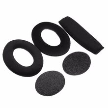 1 Set Pair of Comfortable Ear Pads +Cups Covers Foam Cushion +Headband For Sennheiser PC350 360 HD515 518 Headphones Earpads