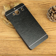 For Samsung Galaxy Ace 4 Core 2 Core Prime Grand Prime case Luxury Metal Brushed Aluminum+Plastic Phone Case Cover