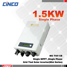 OmnikSol-1.5k-TL-M,Mini Grid tied inverter,1.5KW 220VAC 50HZ High efficiency inverter connected the gird for solar power system