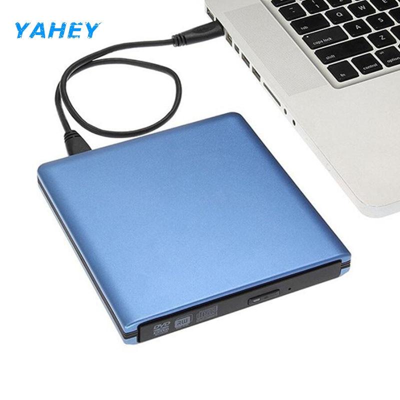 USB 3.0 DVD Burner DVD ROM Player External Optical Drive CD/DVD RW Writer Recorder Portatil Drives for Laptop Computer Mac pc<br>