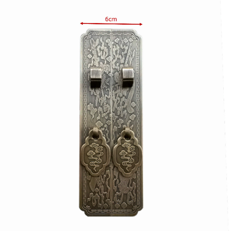 Chinese antique furniture of Ming and Qing Dynasty Classical bookcase cabinet wardrobe cabinets copper flat copper handle door h<br>