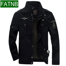 Men Military Army jackets plus size 6XL Brand 2017 Hot cost outerwear embroidery mens jacket for aeronautica militare