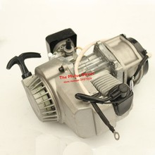 2-T 47cc 49cc Pocket Bike Motor Engine for Mini Dirt Bike mini cross-country motorcycle engine Electric starting engine