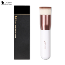 DUcare Brush Foundation brush professional high quality liquid flat brushes for face makeup set tools beauty essential(China)