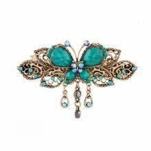 Bling-world Vintage Butterfly Hair Clips Hairpins Hair Clip Beauty Tools Jewelry je13