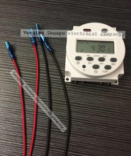 Digital time switching time controller CN101A  2nd Programmable Timer Time Relay 16a    220v 12v 24v 110v  with 4 pieces wire