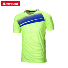 2017 Kawasaki Badminton Tennis T Shirts Short-sleeved Men's T-Shirt Sportswear Training Clothes For Male ST-171024(China)