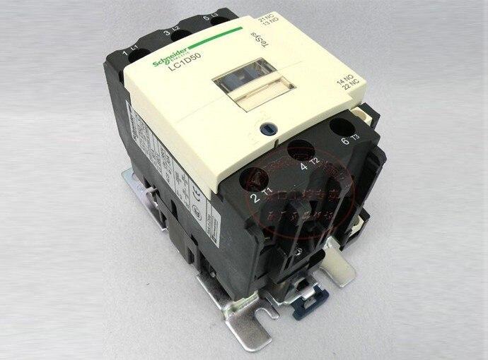 TeSys D Contactor 3P 50A LC1D50 LC1D50B7 LC1-D50B7 24V AC 24VAC<br>