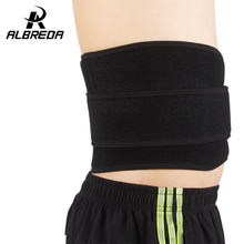 Magnetic Therapy Neoprene Waist Support Double Banded Fitness Gym Belt Waist Protector 6 Springs Lumbar Brace Bodybuilding Belt