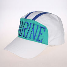 ONE PIECE MARINE hat Cosplay HAT 100% COTTON Adjustable DIY Embroidery(China)