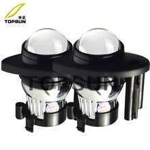 Car bifocal fog lens for HONDA ODYSSEY 2013-,2013- USA TYPE Front bumper lights assembly,Taiwan product, good quality,free shipp