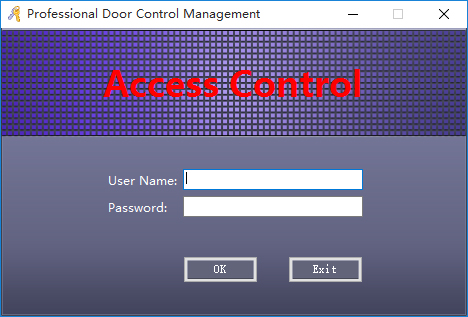 access control board software