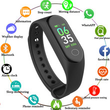 Smart Wristbands Color Screen Multi functional Smart Band Watch Call Reminder Fitness Activity Tracker Step Counter pk mi band(China)