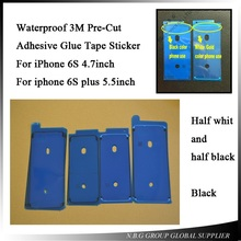 "10pcs/lot LCD Waterproof 3M Pre-Cut Adhesive Glue Tape Front Housing Frame Sticker For iPhone 7 6 5.5 "" 6S plus 4.7""(China)"