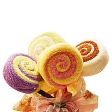 Washcloth Towel Gift Lollipop Towel Bridal Baby Shower Wedding Party Favor A1  BS
