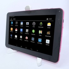 High performance 9''A33 Quad-Core 8GB ROM WIFI Bluetooth Supports 3D games with G-sensor Tablet PC