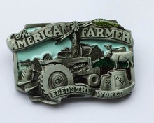 American Farmer Belt Buckle(China)